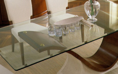Custom glass table top Seattle WA